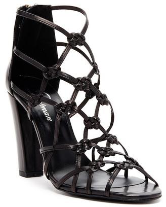 Delman Scandal Heeled Sandal $278 thestylecure.com