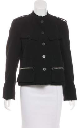 Burberry Wool Button-Up Jacket