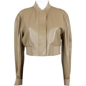 Reed Krakoff Beige Leather Jackets