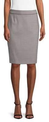 BOSS Vorita Textured Pencil Skirt