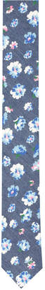 Original Penguin Men's Lennart Floral Skinny Tie