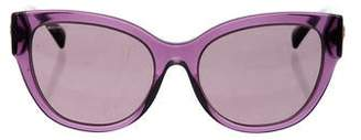 Versace Tinted Grommet Sunglasses