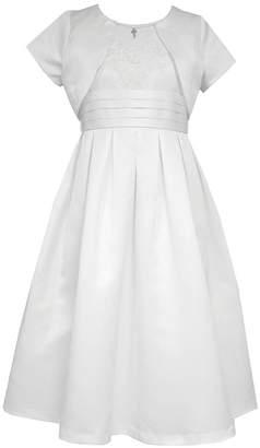 Bonnie Jean Short Sleeve A-Line Dress - Preschool Girls