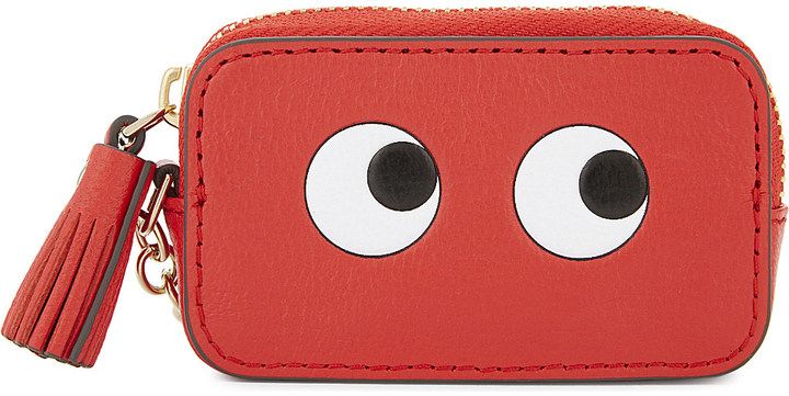 Anya Hindmarch Anya Hindmarch Eyes leather coin purse