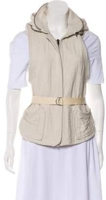 Isabel Marant Hooded Zip-Up Vest