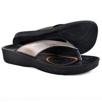 ee1eb3389e3d AEROTHOTIC Original Orthotic Comfort Thong Sandal and Flip Flops with Arch  Support for Comfortable Walk (