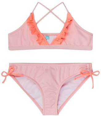 Melissa Odabash New York Ruffle Bikini Set