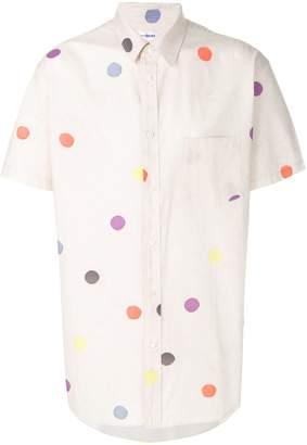 Comme des Garcons polka-dot shirt