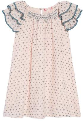 Ruby & Bloom Tiered Sleeve Dress
