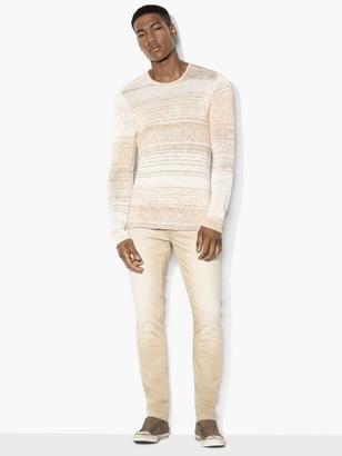 Striped Crewneck Sweater $248 thestylecure.com