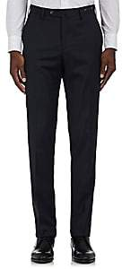 Pt01 Men's Wool Slim-Fit Trousers-Navy Size 42