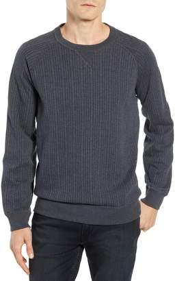Billy Reid Quilted Crewneck Sweatshirt
