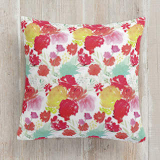 Cheery Garden. Square Pillow