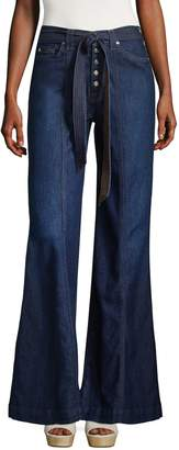 7 For All Mankind Women's Wide Leg Jeans