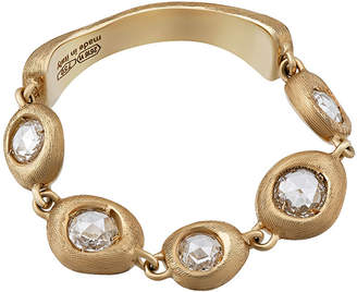Marco Bicego 18k Eclissi Diamond Ring, Size 6.5