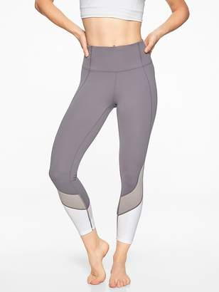 Athleta Colorblock Salutation 7/8 Tight
