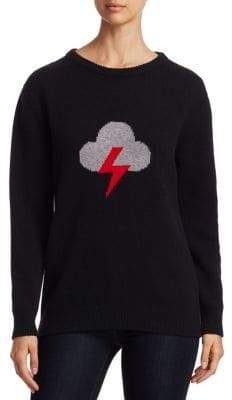 Alberta Ferretti Rainbow Week Capsule Days Of The Week Lightning Emoji Sweater