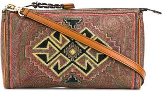 Etro patterned clutch bag