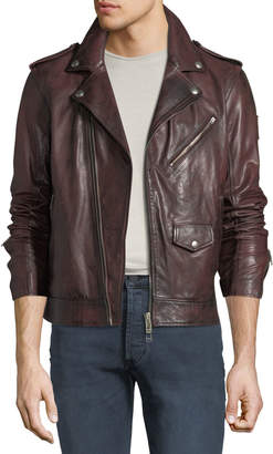 Belstaff Men's Sidmouth Hand-Wax Leather Jacket
