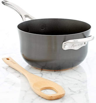 Anolon Nouvelle Hard-Anodized Copper 4 Qt. Risotto Pan & Spoon