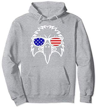 American Eagle Flag Independence Day Hoodie