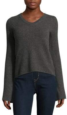 Saks Fifth Avenue Cashmere Flare Sleeve Top