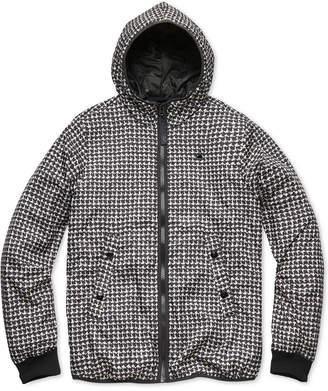 G Star Men's Houndstooth Hooded Jacket