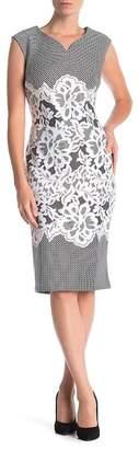 ECI Sleeveless Printed Midi Dress