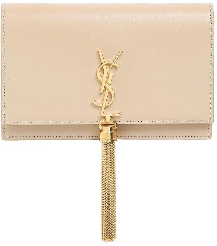 Saint LaurentKate Monogram Bag W/ Chain Tassel