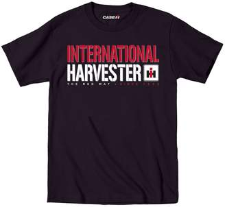 Country Casuals CASE IH© Officiallly Licensed The Red Way Tractor Novelty Mens T-Shirt