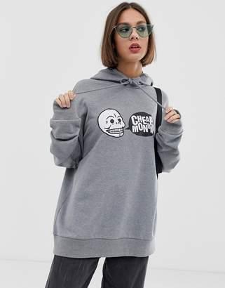 Cheap Monday logo hoodie with organic cotton