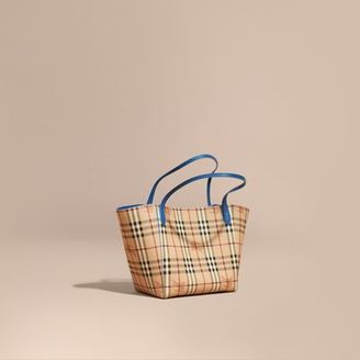 Burberry The Small Canter in Haymarket Check $795 thestylecure.com