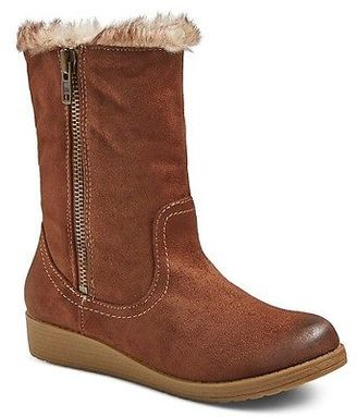 Women's Tasia Shearling Style Boots - Mossimo Supply Co. $34.99 thestylecure.com