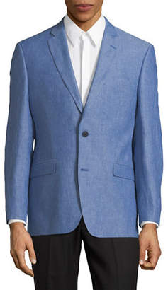 Tommy Hilfiger Long-Sleeve Linen Sportcoat