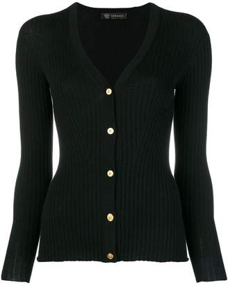 Versace fitted cardigan