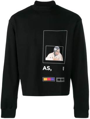 Pyer Moss Fed Up sweatshirt