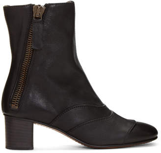 Chloé Black Lexi Boots
