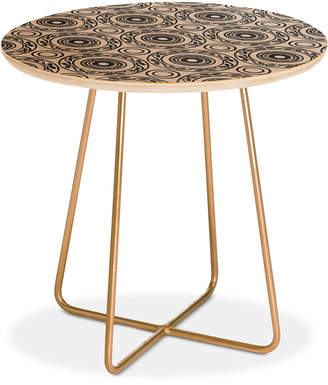 Deny Designs Natalie Baca Baja Mexicali Round Side Table