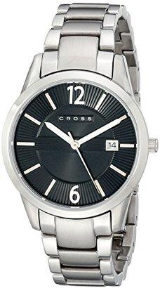 Cross クロス メンズ時計(ゴッサムミディアム【型番:CR8028-11】)【ブラック/1サイズ】