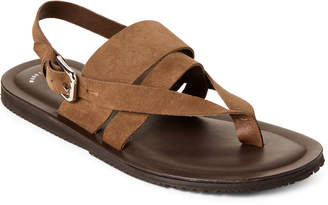 e8648aea71a9 Kenneth Cole Olive Reel Suede Flat Sandals