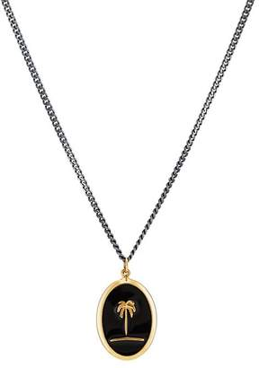 Miansai Men's Palm Tree Pendant Necklace