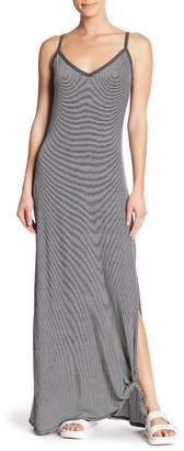 Socialite Striped Knit Maxi Dress