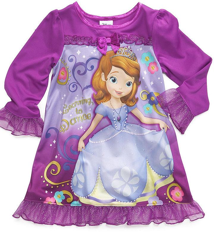 Disney Kids Pajamas, Toddler Girls Sofia the First Nightgown