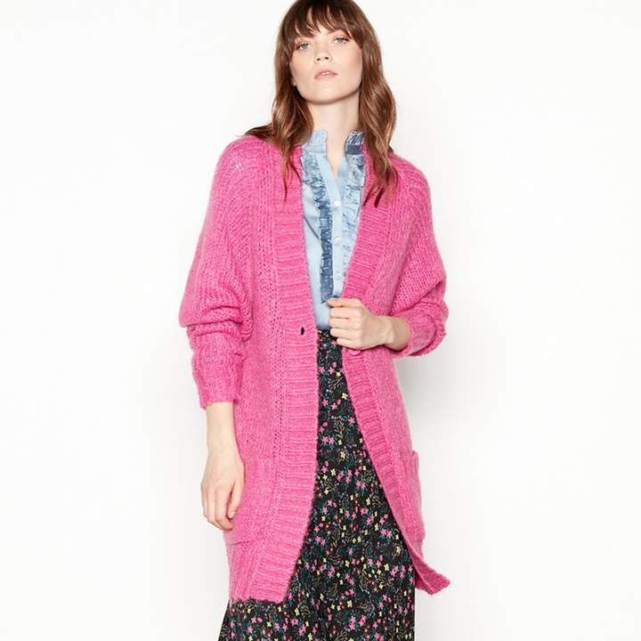 Lolly's Rose Pink Longline 'Carrie' Cardigan