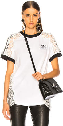 Stella McCartney x adidas Lace Trim Tee