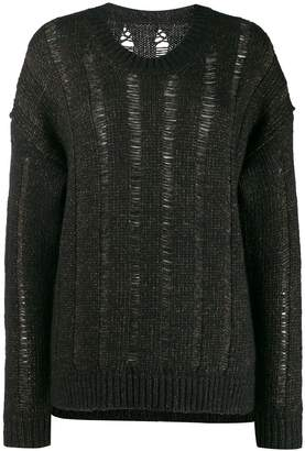 UMA WANG loose knit cardigan