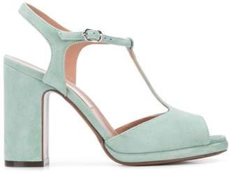L'Autre Chose T-strap heeled sandals