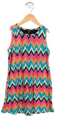 Imoga Girls' Chevron Shift Dress