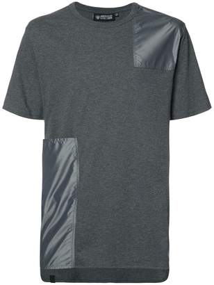 Mostly Heard Rarely Seen patchwork T-shirt