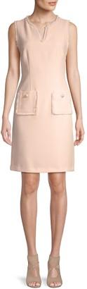 Karl Lagerfeld Paris Textured Sheath Dress
